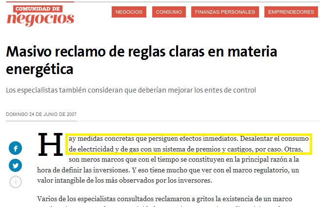 Subsecretario de Coordinación de Política Tarifaria: ex testigo contra la Argentina en el CIADI
