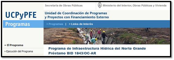 El acueducto del impenetrable plan belgrano financiada for Decreto ministerio del interior
